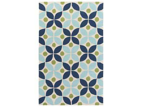 Surya Miranda Rectangular Navy Area Rug