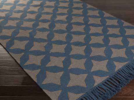 Surya Marinda Rectangular Teal Area Rug