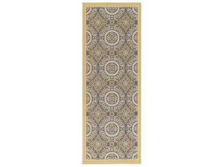 Surya Marina 2'7'' x 7'3'' Rectangular Gray Runner Rug