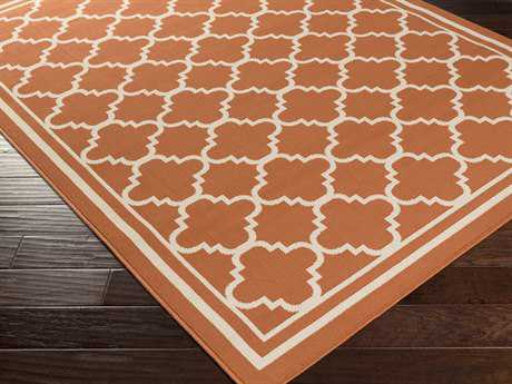 Surya Marina Rectangular Rust Area Rug