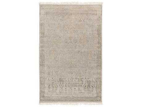 Surya Masha Rectangular Gray Area Rug