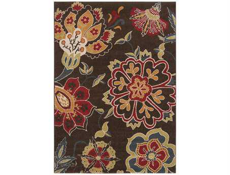 Surya Monterey Rectangular Brown Area Rug