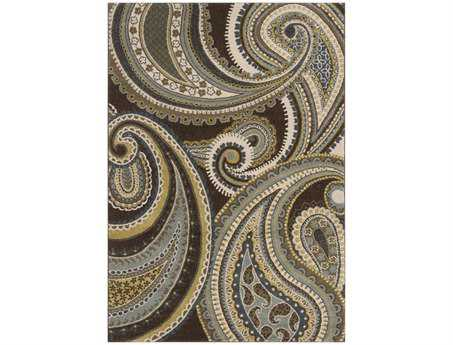 Surya Monterey Rectangular Green Area Rug