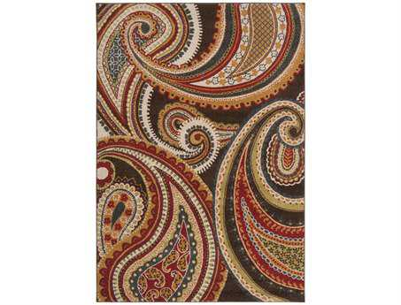 Surya Monterey Rectangular Red Area Rug