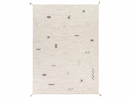 Surya Montezuma Rectangular Light Gray Area Rug SYMTZ2005REC