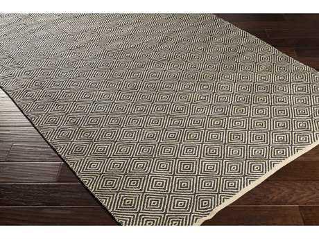Surya Muriel Rectangular Beige, Black & White Area Rug