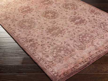 Surya Mykonos Rectangular Pastel Pink Area Rug
