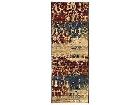 Surya Napa 2'7'' x 7'3'' Rectangular Burgundy Runner Rug