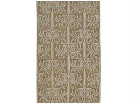 Surya Natura Rectangular Brown Area Rug