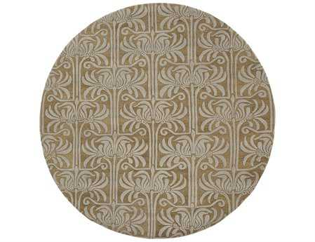 Surya Natura 8' Round Brown Area Rug