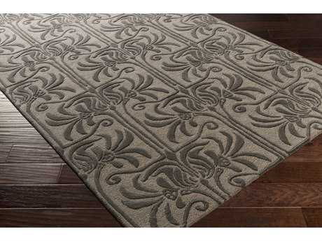 Surya Natura Rectangular Black & Ivory Area Rug