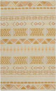 Surya Nomad Rectangular Yellow Area Rug