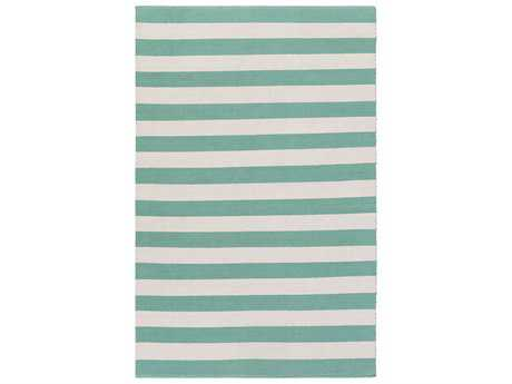 Surya Newport Rectangular Teal Area Rug