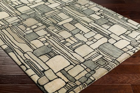 Surya Natural Affinity Rectangular Cream, Butter & Khaki Area Rug