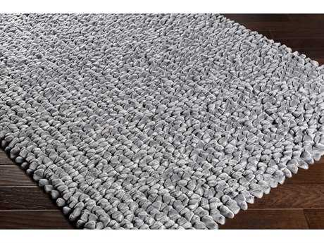 Surya Nestle Rectangular Light Gray Area Rug