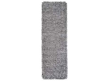 Surya Nestle 2'6'' x 8' Rectangular Light Gray Runner Rug