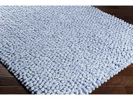 Surya Nestle Rectangular Pale Blue Area Rug