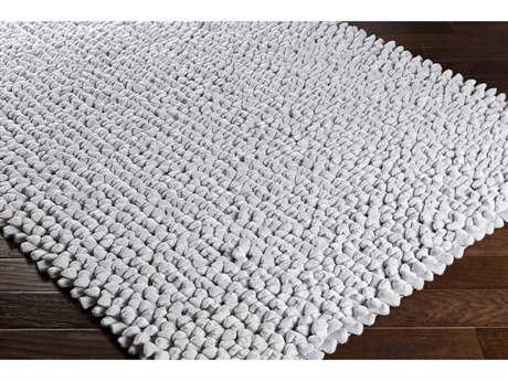 Surya Nestle Rectangular Medium Gray Area Rug