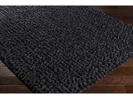 Surya Nestle Rectangular Black Area Rug