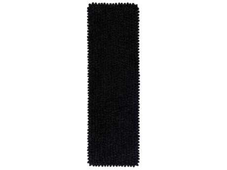 Surya Nestle 2'6'' x 8' Rectangular Black Runner Rug
