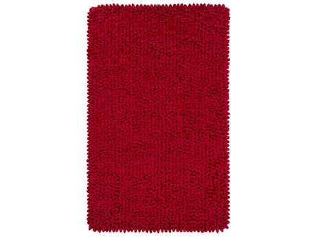 Surya Nestle Rectangular Bright Red Area Rug