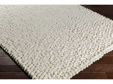 Surya Nestle Rectangular Cream Area Rug
