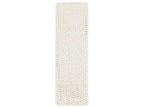 Surya Nestle 2'6'' x 8' Rectangular Cream Runner Rug