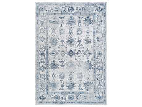Surya Nova Rectangular Navy Area Rug