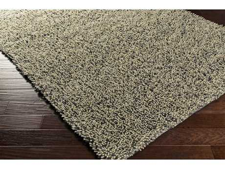 Surya Newton Rectangular Black, Medium Gray & Cream Area Rug