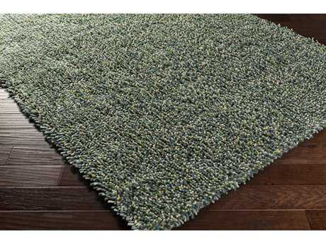 Surya Newton Rectangular Aqua, Grass Green & Lime Area Rug