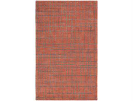 Surya Naya Rectangular Orange Area Rug