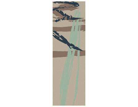 Surya Naya 2'6'' x 8' Rectangular Beige Runner Rug
