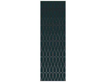 Surya Naya 2'6'' x 8' Rectangular Teal Runner Rug