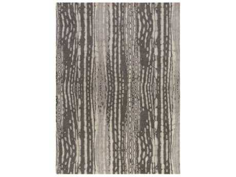 Surya Naya Rectangular Charcoal, Medium Gray & Ivory Area Rug