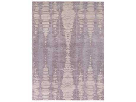 Surya Naya Rectangular Lavender & Light Gray Area Rug