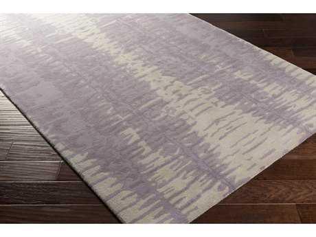 Surya Naya Rectangular Lavender & Light Gray Area Rug