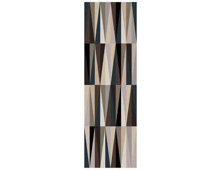 Surya Oasis 2'6'' x 8' Rectangular Gray Runner Rug