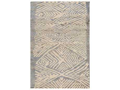 Surya Orinocco Rectangular Medium Gray & Cream Area Rug