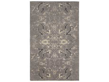 Surya Opulent Rectangular Light Gray Area Rug