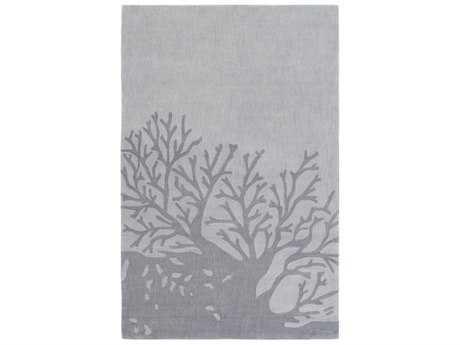 Surya Opera Rectangular Medium Gray & Charcoal Area Rug