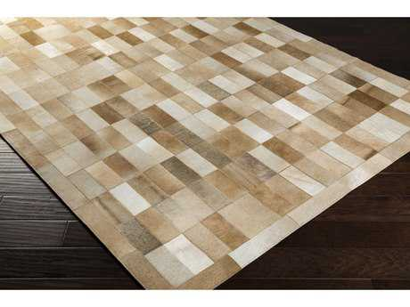 Surya Outback Rectangular Camel, Khaki & Wheat Area Rug