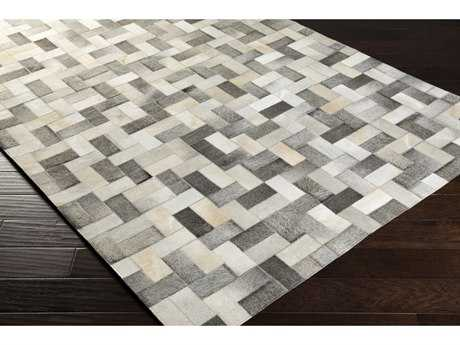 Surya Outback Rectangular Medium Gray, Ivory & Camel Area Rug