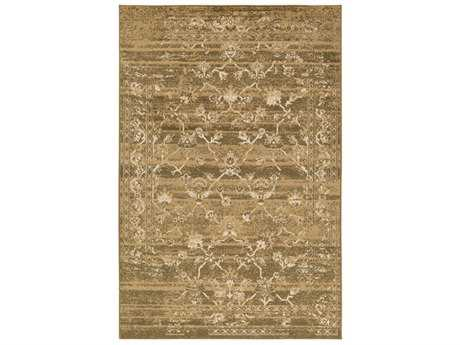 Surya Paramount Rectangular Dark Brown, Tan & Beige Area Rug