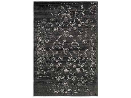 Surya Paramount Rectangular Black & Light Gray Area Rug