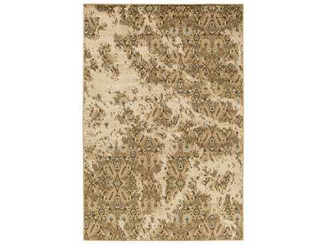 Surya Paramount Rectangular Tan, Beige & Pale Blue Area Rug