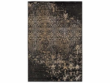 Surya Paramount Rectangular Black, Light Gray & Tan Area Rug SYPAR1073REC