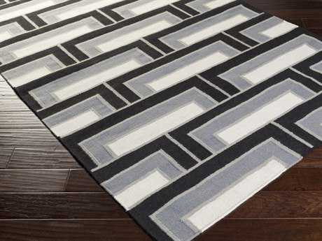 Surya Paddington Rectangular Light Gray Area Rug
