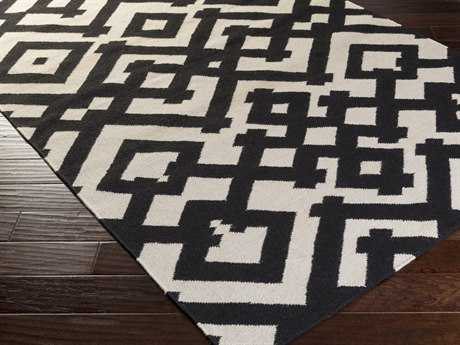 Surya Paddington Rectangular Charcoal Area Rug