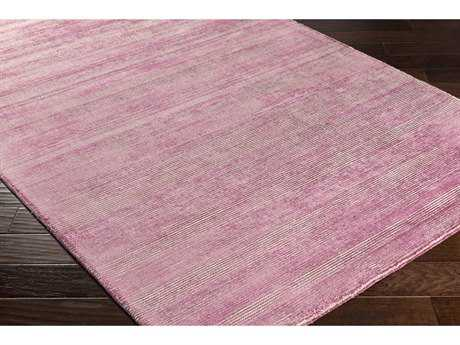 Surya Prague Rectangular Bright Purple & Khaki Area Rug
