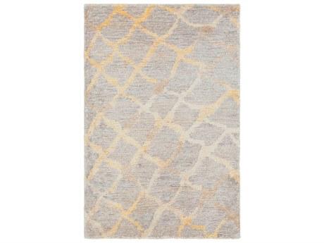 Surya Platinum Rectangular Gray Area Rug SYPLAT9018REC